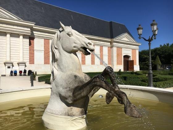 Détail fontaine